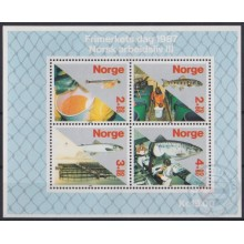 F-EX22323 NORWAY NORGE NORED MNH 1987 SEA MARINE WILDLIFE FISH PECES.