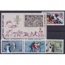 F-EX22298 POLAND MNH 1979 MOSCOW OLYMPIC GAMES ATHLETICS HORSE