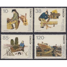 F-EX23283 PORTUGAL AZORES MNH 1992 SHEET FOLKLORE SHIP BARCOS.
