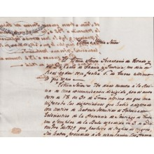 BE761 CUBA SPAIN 1844 SIGNED CAPTAIN GENERAL O´DONNELL SLAVE SLAVERY.