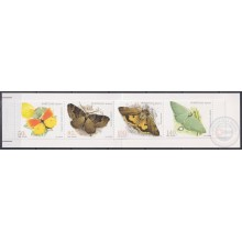 F-EX22876 MADEIRA PORTUGAL MNH 1998 BOOKLED BUTTERFLIES INSECTS PAPILLON MARIPOSAS ENTOMOLOGY.
