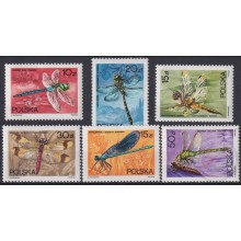 F-EX25845 POLAND POLONIA MNH 1983 INSECTS DRAGONFLY ENTOMOLOGY