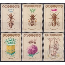 F-EX25848 POLAND POLONIA MNH 1985 INSECTS BEE ABEJAS ENTOMOLOGY.