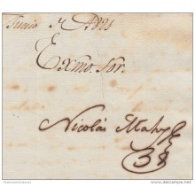 E4482 CUBA SPAIN ESPAÑA. AUTOGRAFOS. SIGNED DOC CAPTAIN GENERAL 1821-1822. NICOLAS MAHY. CAPITAN GENERAL DE CUBA.