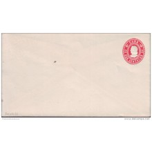 1899-EP-13 CUBA. SPAIN. ESPAÑA. 1899. US OCCUPATION. Ed.55A. 2c. ENTERO POSTAL. POSTAL STATIONERY. PAPEL BLANCO. NAIFE 5