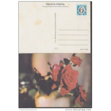 1978-EP-1 CUBA 1978. Ed.122a. POSTAL STATIONERY. MOTHER DAY SPECIAL DELIVERY. CARTULINA MATE. ROSAS. ROSE. FLOWERS. FLOR