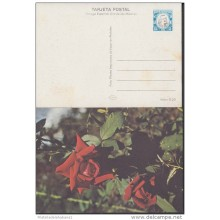 1978-EP-5 CUBA 1978. Ed.122b. POSTAL STATIONERY. MOTHER DAY SPECIAL DELIVERY. CARTULINA MATE. ROSAS. ROSE. FLOWERS. FLOR