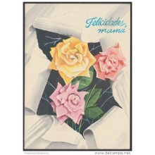 1981-EP-1 CUBA 1981. Ed.128c. MOTHER DAY SPECIAL DELIVERY. ENTERO POSTAL. POSTAL STATIONERY. ROSAS. ROSE. FLOWERS. FLORE