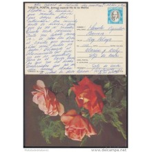 1990-EP-2 CUBA 1990. Ed.147a. MOTHER DAY SPECIAL DELIVERY. ENTERO POSTAL. POSTAL STATIONERY. ROSAS. ROSES. FLOWERS. FLOR