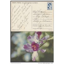 1991-EP-24 CUBA 1991. Ed.149h. MOTHER DAY SPECIAL DELIVERY. ENTERO POSTAL. POSTAL STATIONERY. FLORES. FLOWERS. USED.