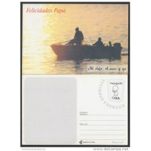 1999-EP-36 CUBA 1999. Ed.33d. FATHER'S DAY. SPECIAL DELIVERY. ENTERO POSTAL. POSTAL STATIONERY. DIA DEL PADRE. UNUSED.