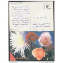 1999-EP-10 CUBA 1999. Ed.29g. MOTHER DAY SPECIAL DELIVERY. ENTERO POSTAL. POSTAL STATIONERY. FLOWERS. FLORES. USED.