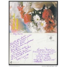 1999-EP-13 CUBA 1999. Ed.29j. MOTHER DAY SPECIAL DELIVERY. ENTERO POSTAL. POSTAL STATIONERY. FLOWERS. FLORES. USED.
