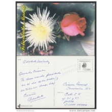 1999-EP-16 CUBA 1999. Ed.29m. MOTHER DAY SPECIAL DELIVERY. ENTERO POSTAL. POSTAL STATIONERY. FLOWERS. FLORES. USED.