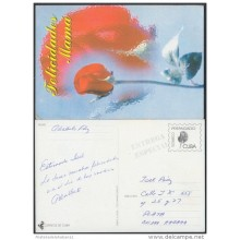 1999-EP-19 CUBA 1999. Ed.29p. MOTHER DAY SPECIAL DELIVERY. ENTERO POSTAL. POSTAL STATIONERY. FLOWERS. FLORES. USED.