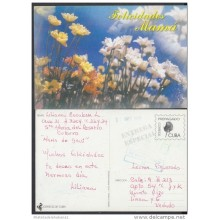 1999-EP-23 CUBA 1999. Ed.29t. MOTHER DAY SPECIAL DELIVERY. ENTERO POSTAL. POSTAL STATIONERY. FLOWERS. FLORES. USED.