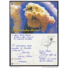 1999-EP-25 CUBA 1999. Ed.29v. MOTHER DAY SPECIAL DELIVERY. ENTERO POSTAL. POSTAL STATIONERY. FLOWERS. FLORES. USED.