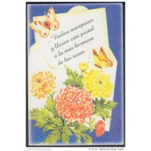 1999-EP-29 CUBA 1999. Ed.30c. MOTHER DAY SPECIAL DELIVERY. ENTERO POSTAL. POSTAL STATIONERY. FLOWERS. FLORES. USED.