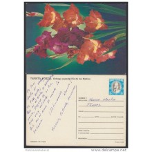 1988-EP-35 CUBA 1988. Ed.144e. MOTHER DAY SPECIAL DELIVERY. POSTAL STATIONERY. FLORES. FLOWERS. UNUSED.