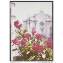 1989-EP-47 CUBA 1989. Ed.146c. MOTHER DAY SPECIAL DELIVERY. POSTAL STATIONERY. ROSES. FLORES. FLOWERS. UNUSED.
