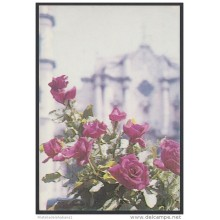 1989-EP-48 CUBA 1989. Ed.146c. MOTHER DAY SPECIAL DELIVERY. POSTAL STATIONERY. ROSES. FLORES. FLOWERS. USED.