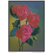 1989-EP-60 CUBA 1989. Ed.145a. MOTHER DAY SPECIAL DELIVERY. POSTAL STATIONERY. ROSAS. ROSES. FLORES. FLOWERS. UNUSED.