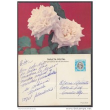 1982-EP-63 CUBA 1982. Ed.129a. MOTHER DAY SPECIAL DELIVERY. POSTAL STATIONERY. A. MACEO. FLORES. FLOWERS. USED.