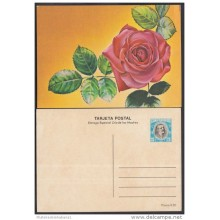 1983-EP-16 CUBA 1983. Ed.133a. MOTHER DAY SPECIAL DELIVERY. POSTAL STATIONERY. A. MACEO. FLORES. FLOWERS. UNUSED.