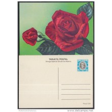 1983-EP-19 CUBA 1983. Ed.133d. MOTHER DAY SPECIAL DELIVERY. POSTAL STATIONERY. A. MACEO. FLORES. FLOWERS. UNUSED.