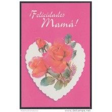 2001-EP-36 CUBA 2001. Ed.57z. MOTHER DAY SPECIAL DELIVERY. POSTAL STATIONERY. ROSAS. ROSES. FLORES. FLOWERS. USED.