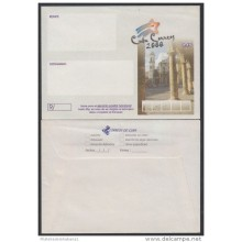2000-EP-111 CUBA 2000. Ed.212. SOBRE CARTA. POSTAL STATIONERY. PLAZA DE LA CATEDRAL. UNUSED.