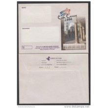 2000-EP-118 CUBA 2000. Ed.212. SOBRE CARTA. POSTAL STATIONERY. PLAZA DE LA CATEDRAL. MEDIDA GRANDE 165x118mm. UNUSED.