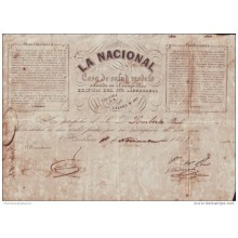 E1146 CUBA ESPAÑA SPAIN ILLUSTRATED INVOICE MEDICINE 1859
