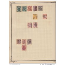 E1267 UK ENGLAND REVENUE STAMPS LOT. SOLD AS IS. NEW ZEALAND. LOT