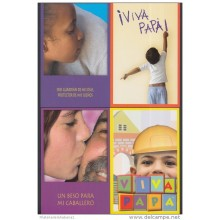 2008-EP-5 CUBA 2008. Ed. FATHER'S DAY. SPECIAL DELIVERY. POSTAL STATIONERY. SET 11-11. NIÑO. CHILDREN. UNUSED.