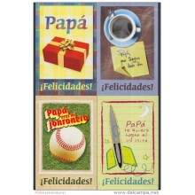 2009-EP-4 CUBA 2009. Ed. FATHER'S DAY. SPECIAL DELIVERY. POSTAL STATIONERY. SET 10-10. UNUSED.