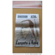 JK424 SPAIN ESPAÑA POSTER 42 x 29 cm. RUSSIA GERMANY. DIVISION AZUL. SOLDIERS