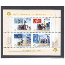 2005 AE101 CUBA 2005 SPECIAL FORMAT IMPERFORATED EUROPA MNH