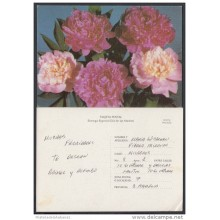 1996-EP-10 CUBA 1996. Ed.2a. MOTHER DAY SPECIAL DELIVERY. POSTAL STATIONERY. FLORES. FLOWERS. USED.