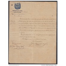 *BE443 CUBA INDEPENDENCE WAR CORONEL FRANCISCO DIAZ VIVO SIGNED DOC 1898