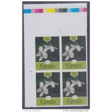 2013.388 CUBA 2013 PROOF ERROR MNH FLOWER ORCHIDS.