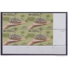 2013.390 CUBA 2013 PROOF ERROR MNH TORTUGA TOURTLES