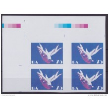2013.407 CUBA 2013 MNH PROOF IMPERFORATED BLOCK 4 ALICIA ALONSO BALLET GISELLE