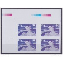 2013.408 CUBA 2013 MNH PROOF IMPERFORATED BLOCK 4 ALICIA ALONSO BALLET GISELLE