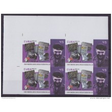 2014.299 CUBA 2014 MNH PROOF IMPERFORATED BLOCK 4 ERNESTO CHE GUEVARA.