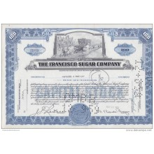 BON-201 CUBA BON 1959 100$. THE FRANCISCO SUGAR COMPANY.