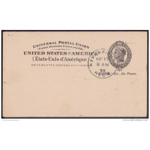 1899-EP-118. CUBA. US OCCUPATION. 1899. Ed.40. ENTERO POSTAL. POSTAL STATIONERY.