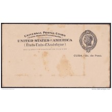 1899-EP-120. CUBA. US OCCUPATION. 1899. Ed.40. POSTAL STATIONERY.