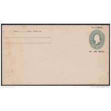 1899-EP-124. CUBA US OCCUPATION. 1899. ENTERO POSTAL US HABILITADO. 2c. Ed.42. POSTAL STATIONERY