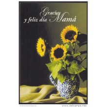 2002-EP-6 CUBA 2002. Ed.61&ntilde . MOTHER DAY SPECIAL DELIVERY. POSTAL STATIONERY. ERROR DE CORTE. GIRASOLES. FLORES. F